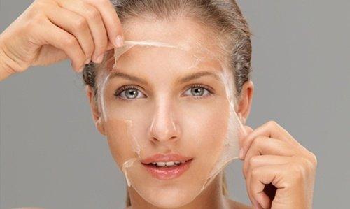 Peeling du visage